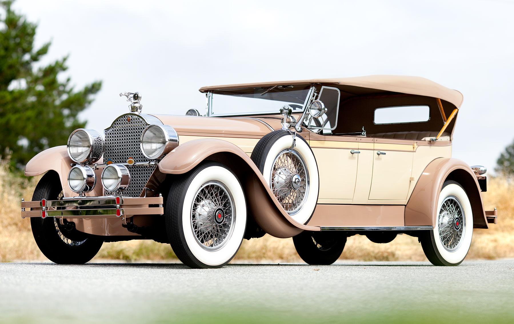 1928 Packard Model 443 Custom Eight Five-Passenger Phaeton