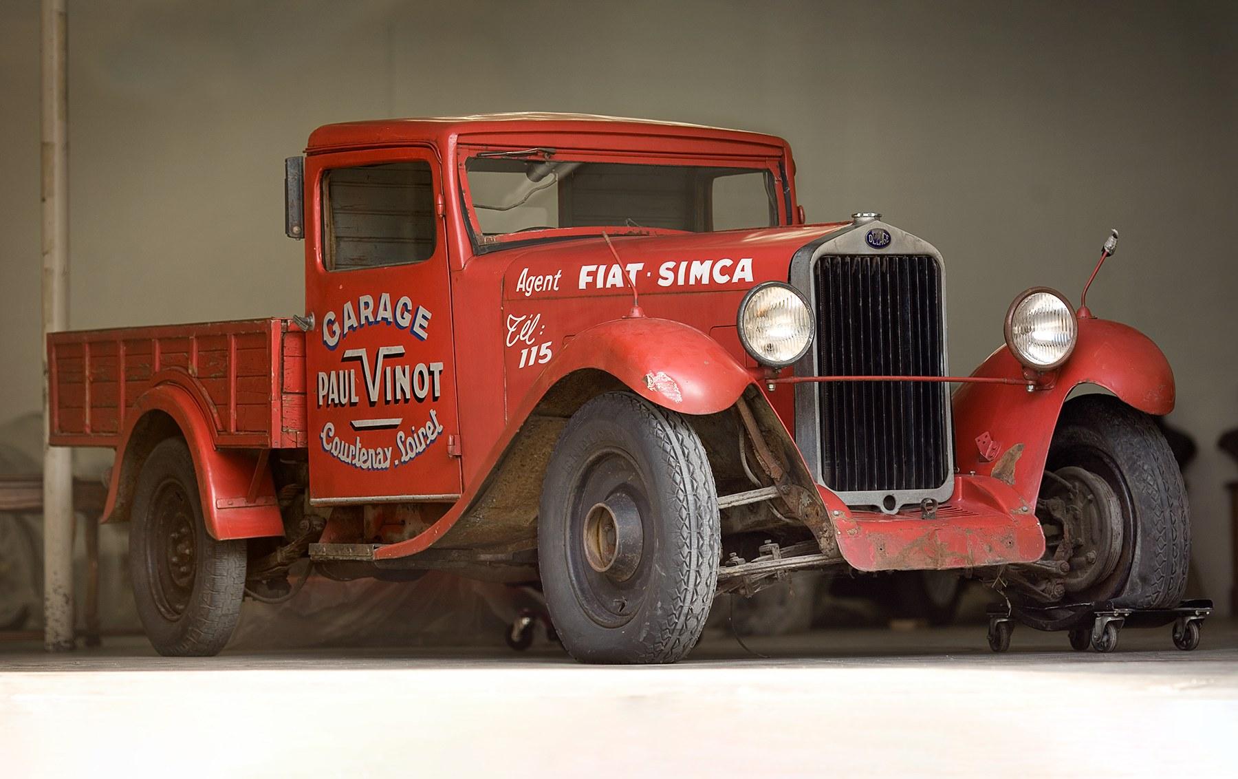 1933 Delage D6-11 Truck