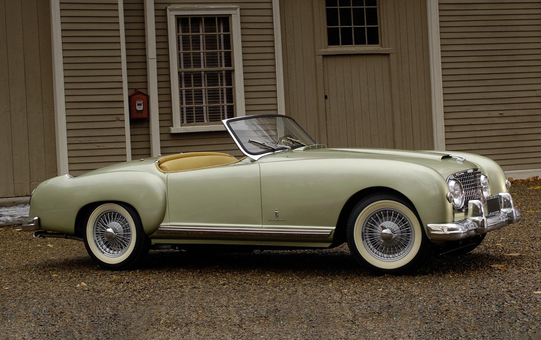 1953 Nash-Healey Roadster-7