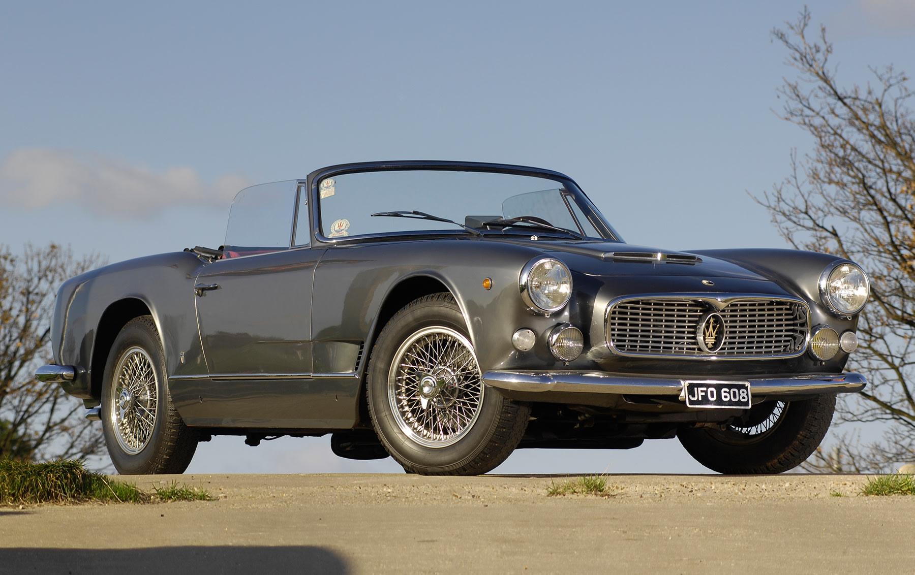 1963 Maserati 3500 GTI Spider