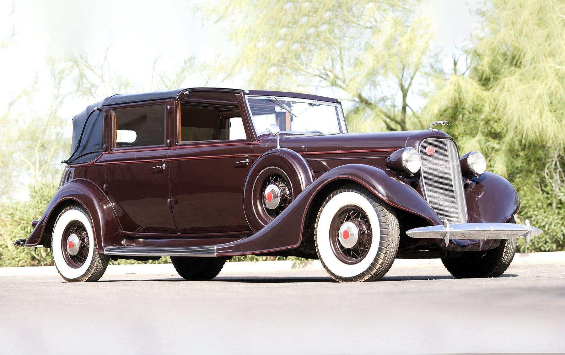 1935 Lincoln Model K Semi-Collapsable Cabriolet