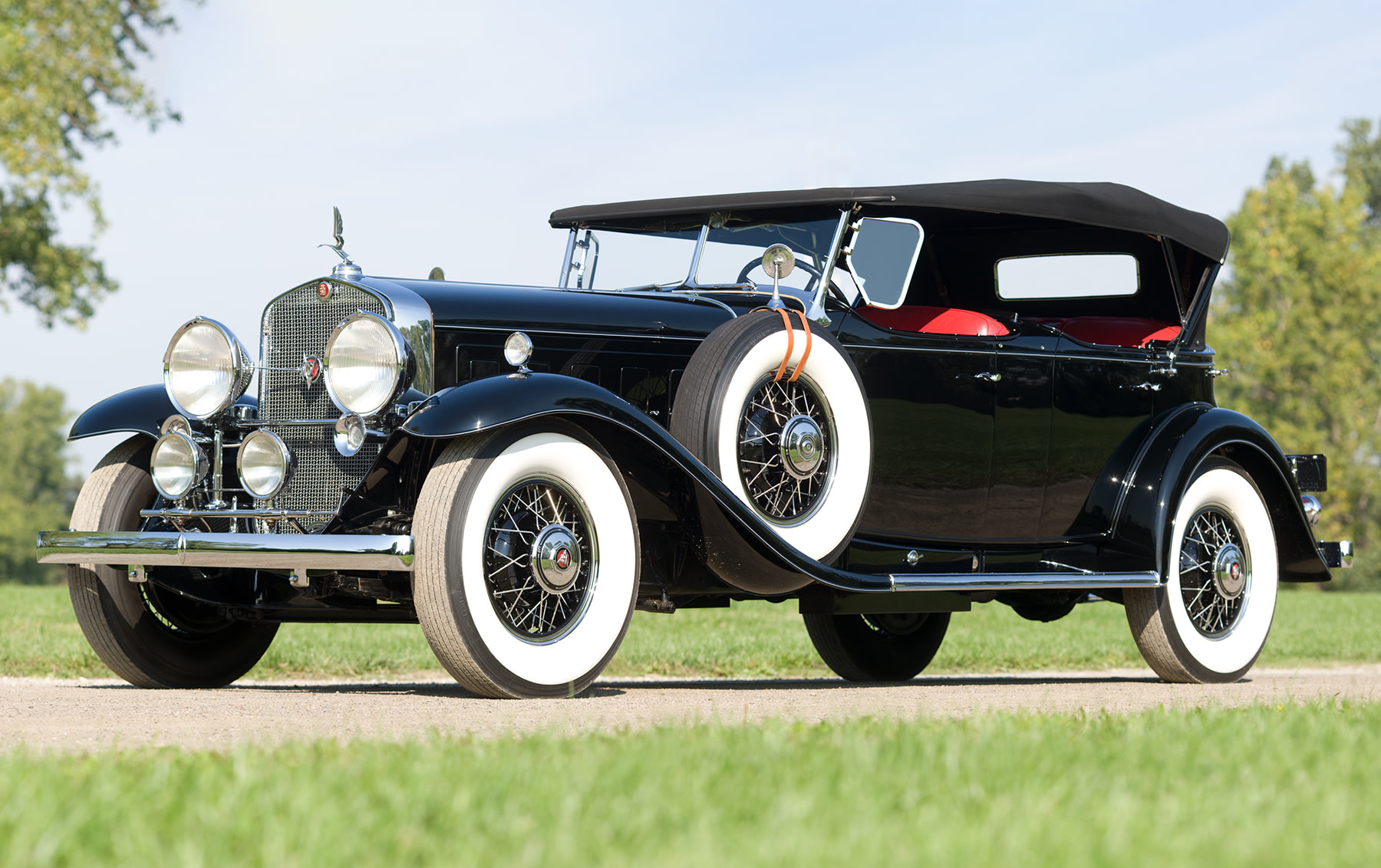 1931 Cadillac 452A V-16 Sport Phaeton-1