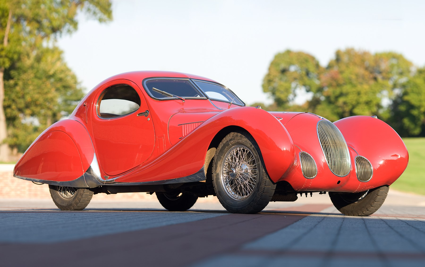 1937 Talbot-Lago T150 C SS Tear Drop Coupe