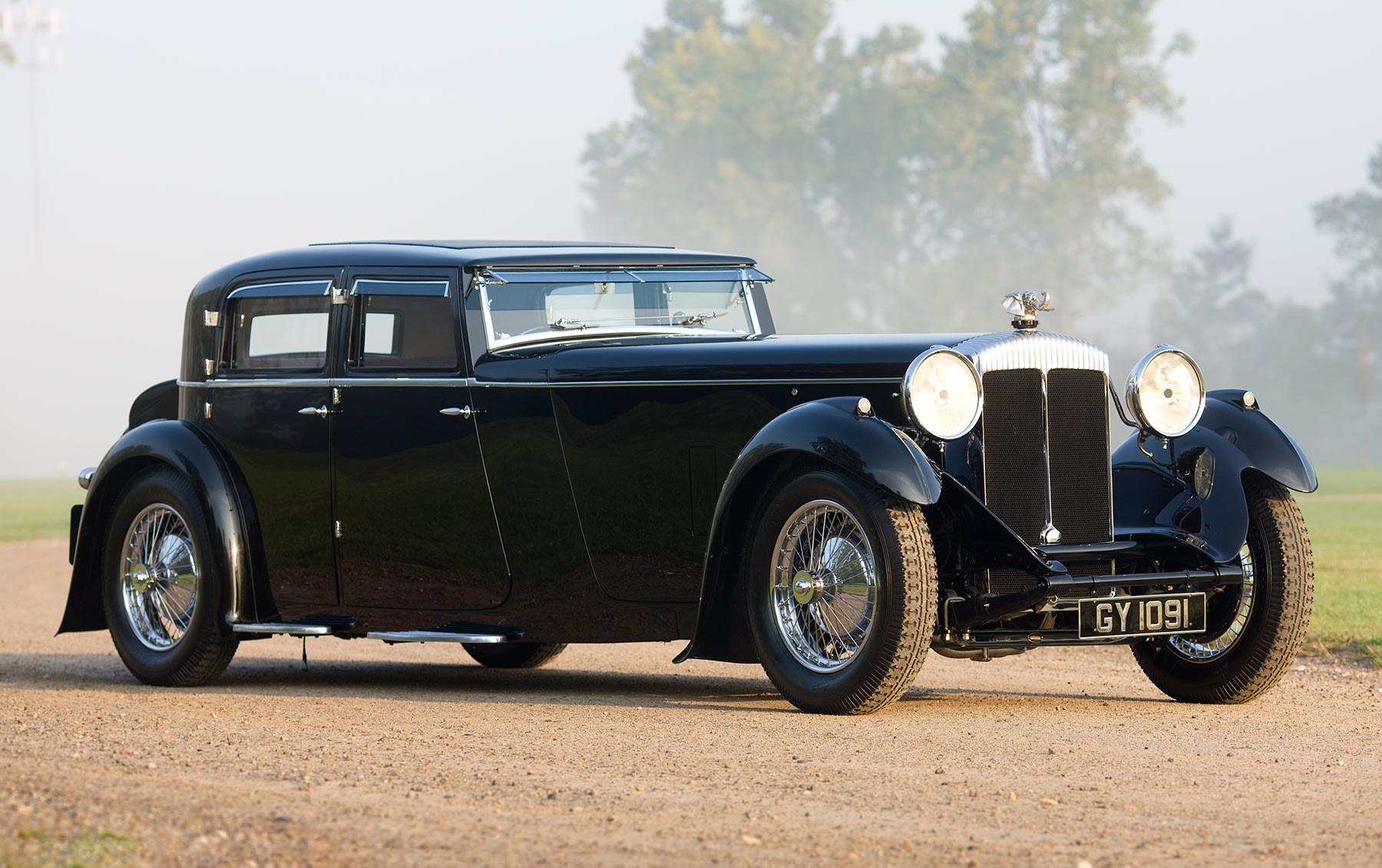 1932 Daimler 40/50 Double Six Sport Saloon