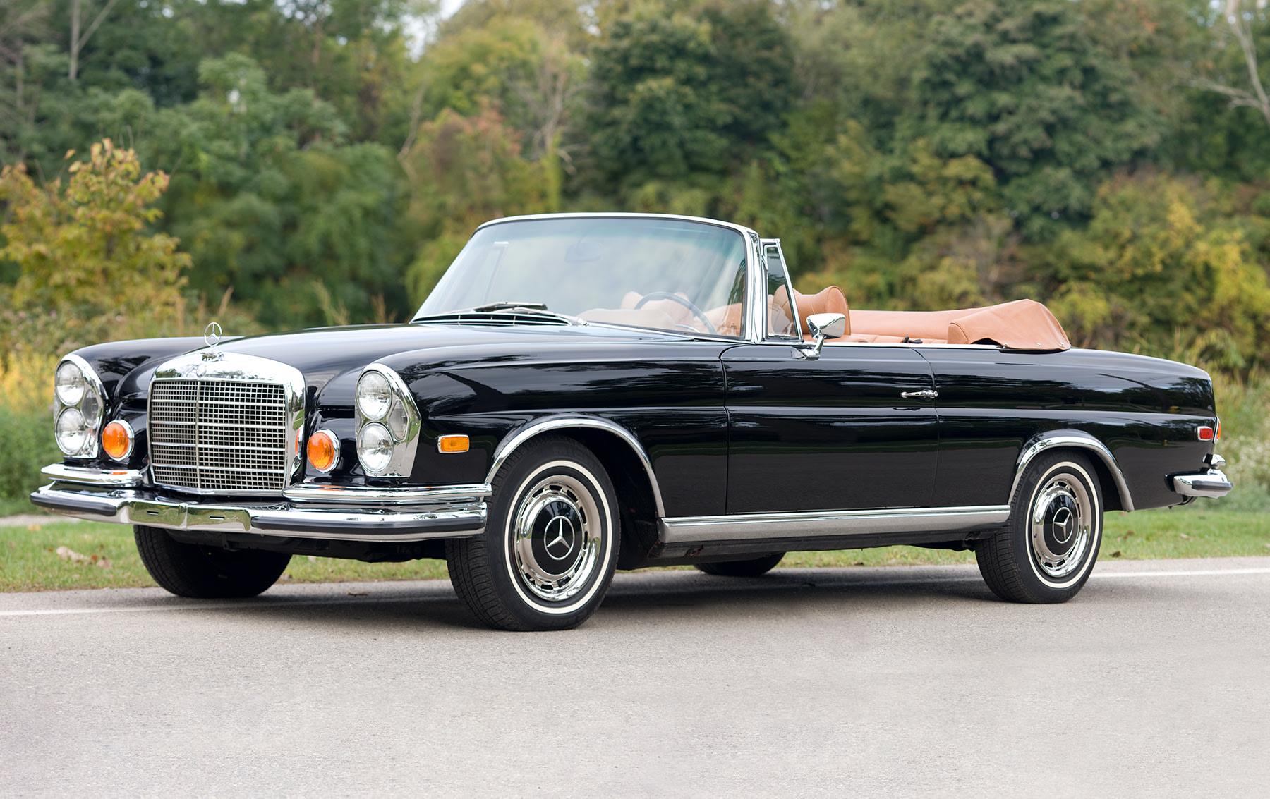 1971 Mercedes-Benz 280 SE 3.5 Convertible-3