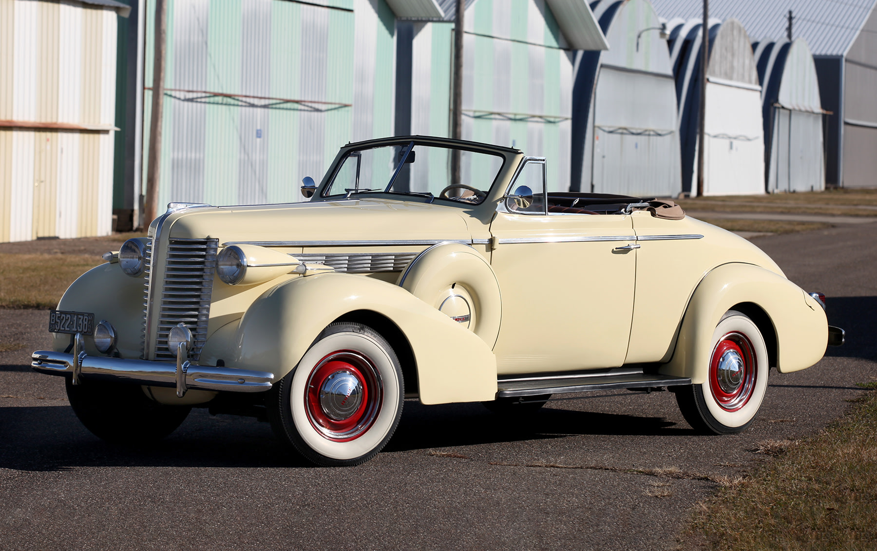 1938 Buick Special Model 46C Convertible Coupe