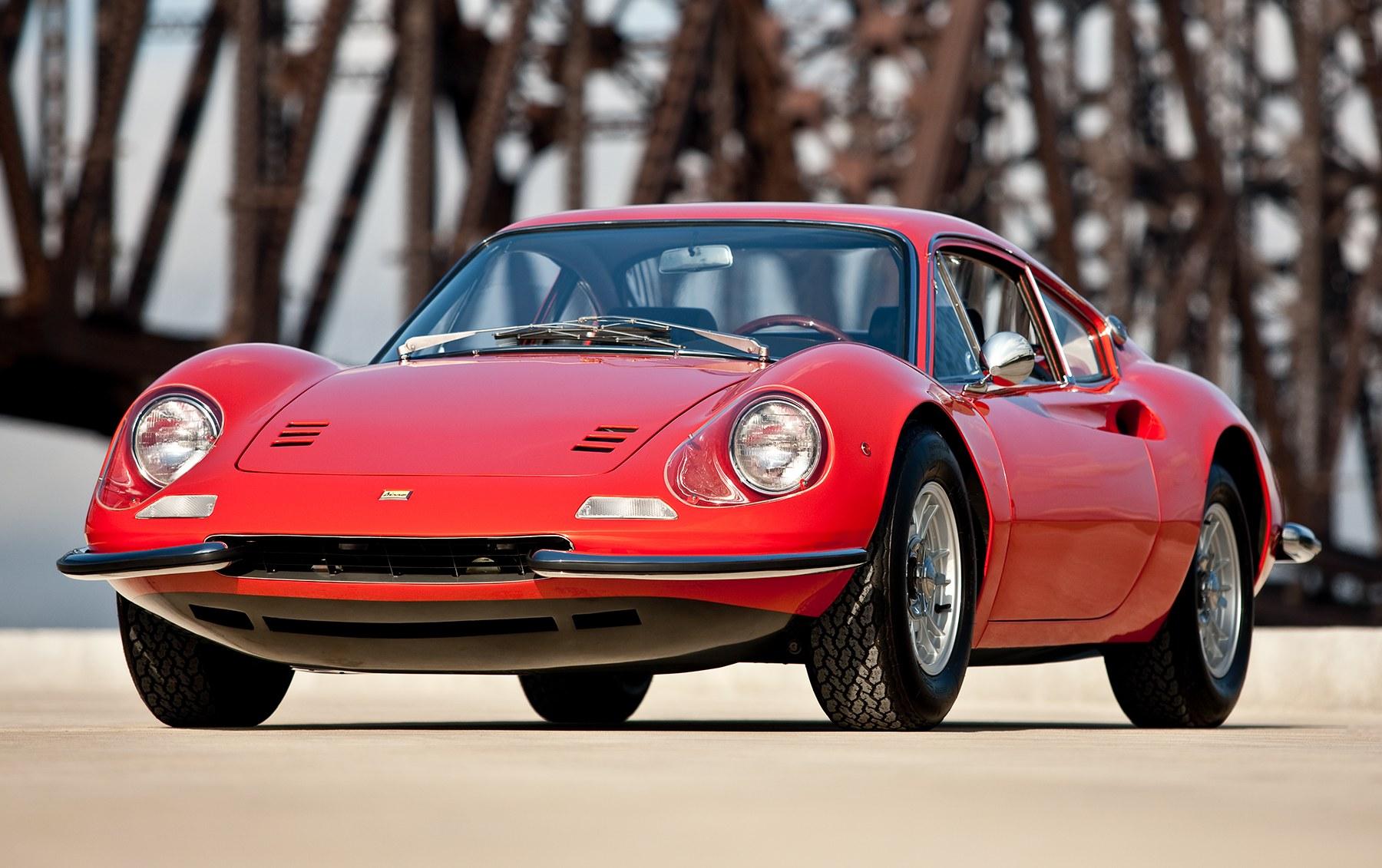 1968 Ferrari Dino 206 GT Alloy