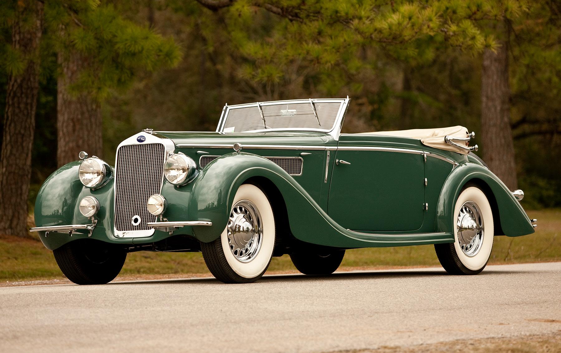 1937 Delage D8 120 Drop Head Coupe