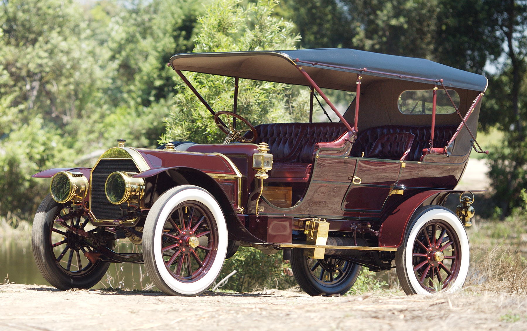 1909 Pierce-Arrow Model 48SS Great Arrow Seven-Passenger Touring Car