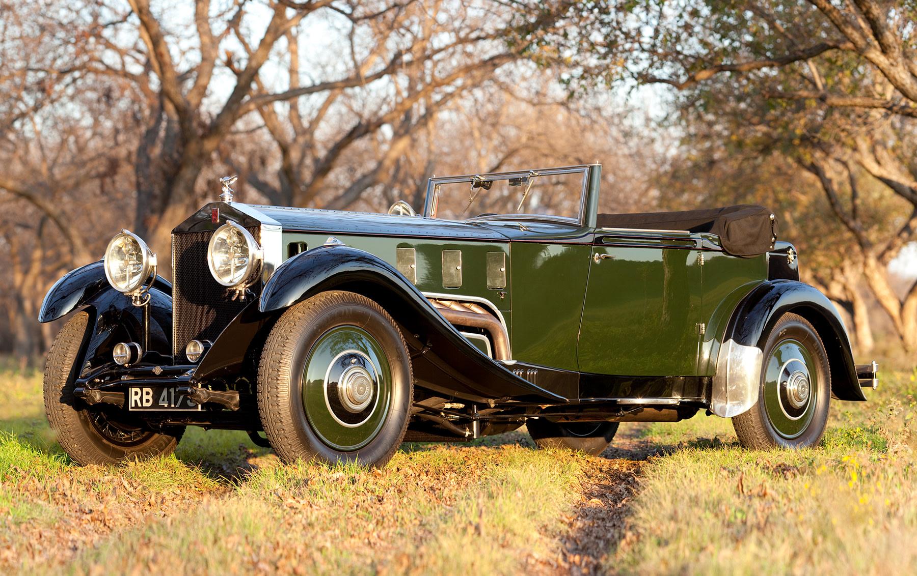 1931 Rolls-Royce Phantom II Drop Head Coupe
