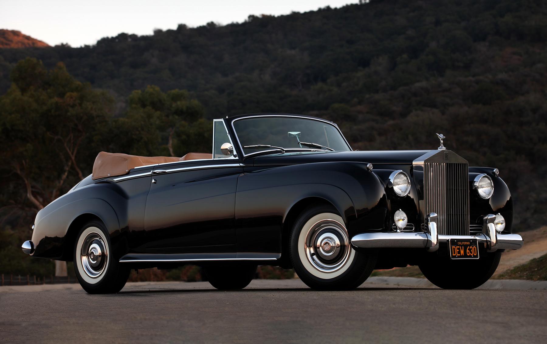 1961 Rolls-Royce Silver Cloud II Drop Head Coupe