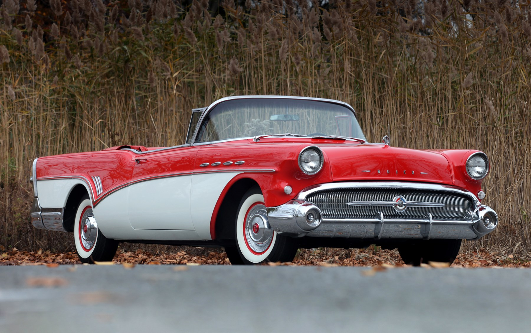 1957 Buick Roadmaster Convertible Coupe-2