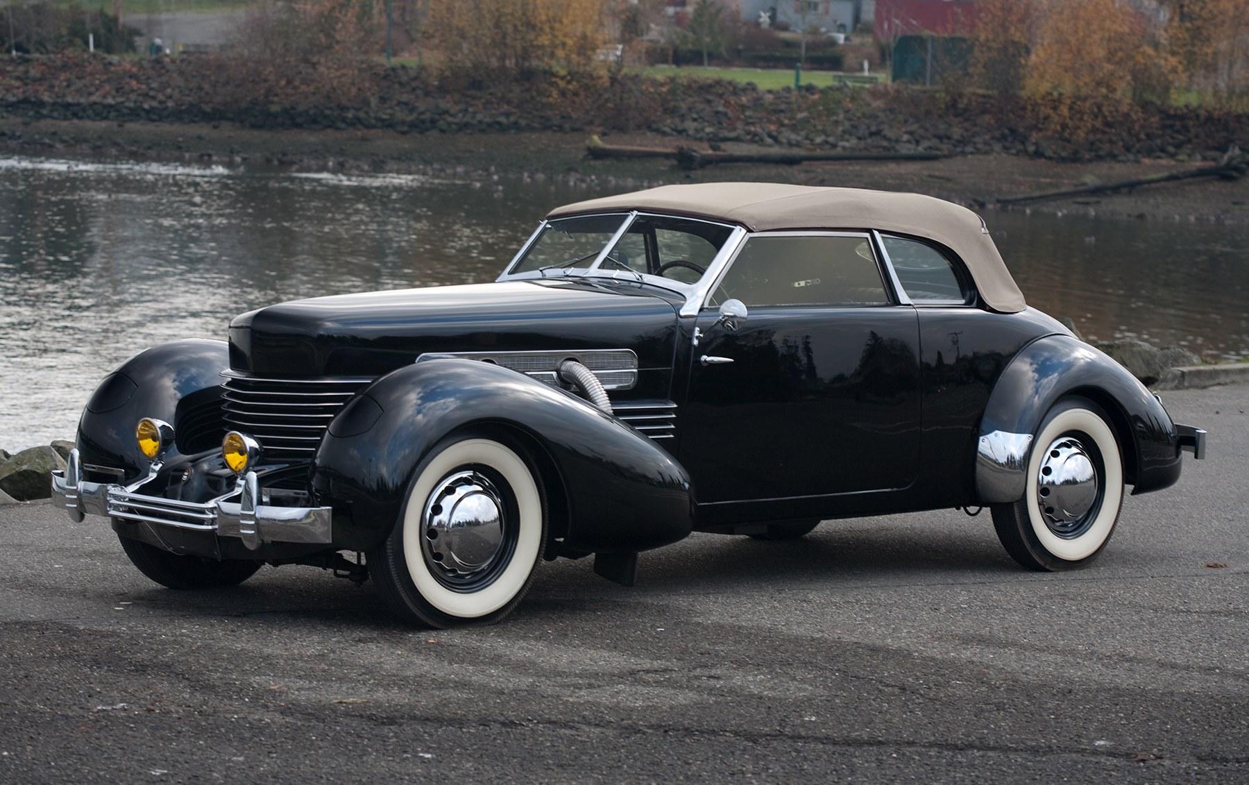 1937 Cord 812 S/C Phaeton-4