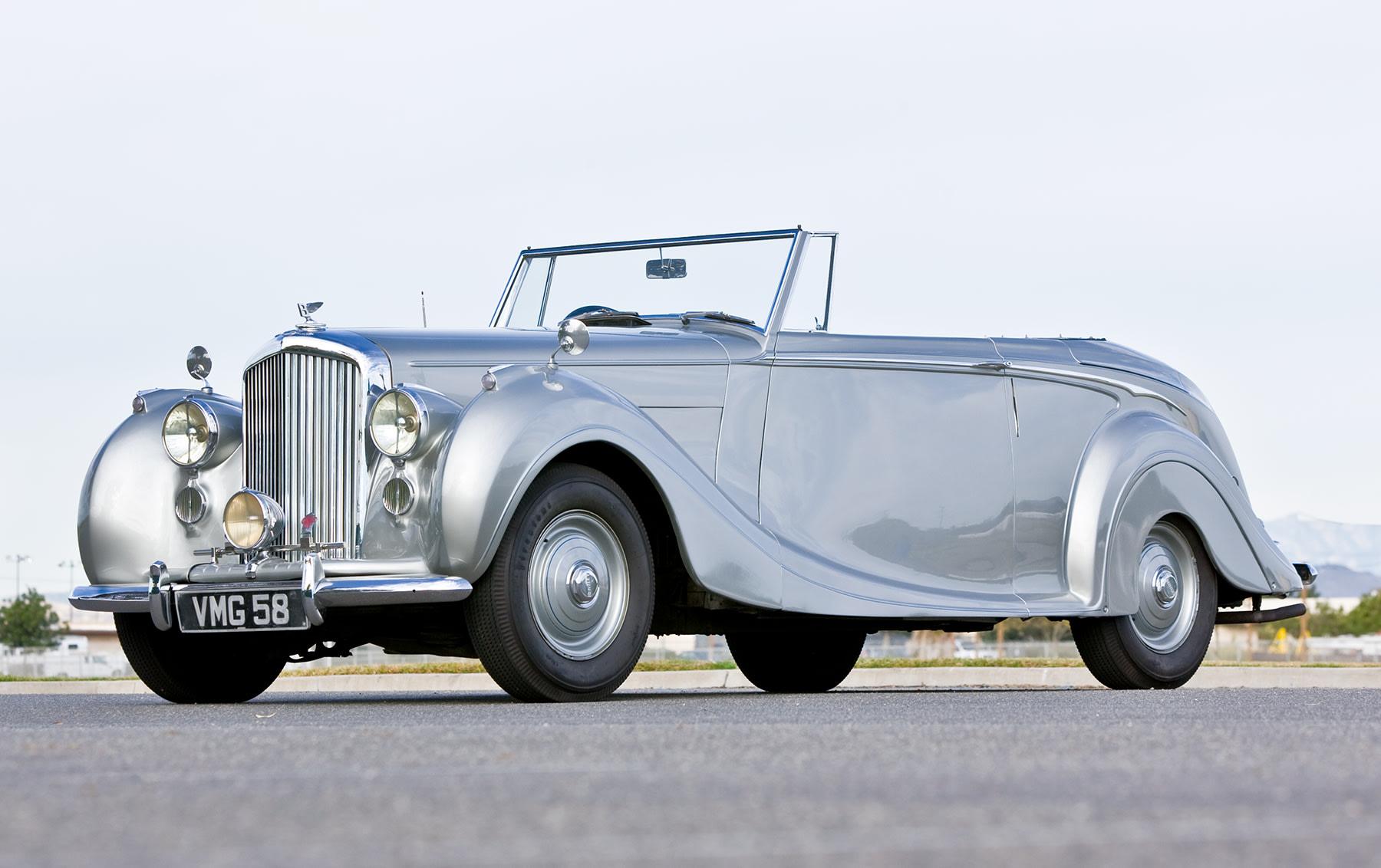 1949 Bentley Mark VI Drop Head Coupe