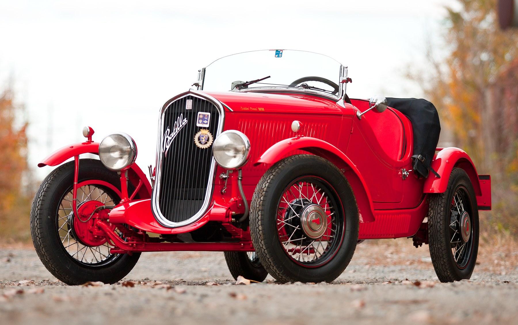 1935 Fiat Balilla Sport Spider 508 S