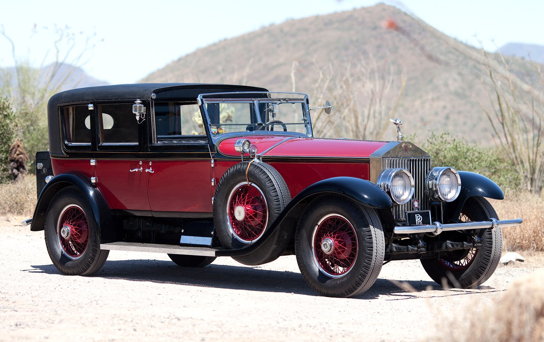1928 Rolls-Royce Phantom I Sedanca de Ville