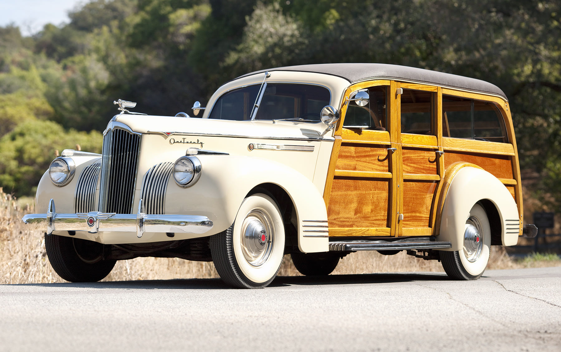 1941 Packard 120 Station Wagon-2
