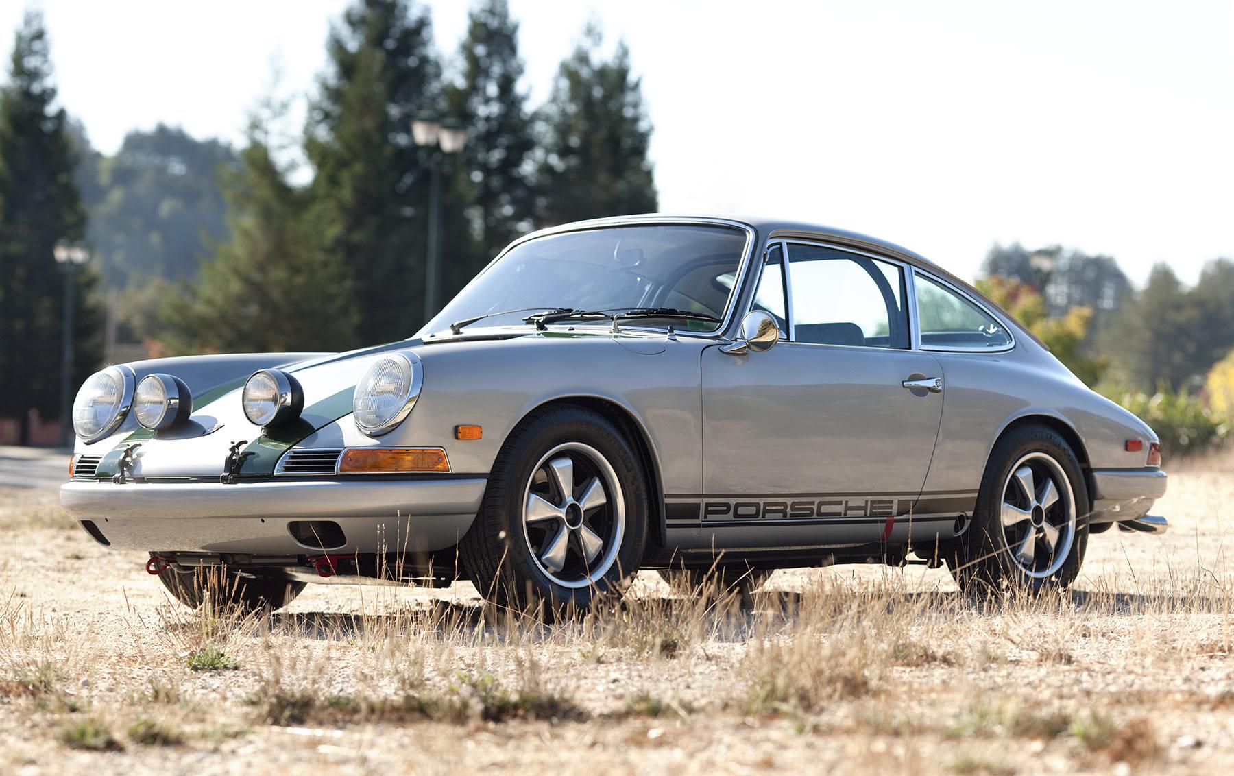 1968 Porsche 911 L Rally Car