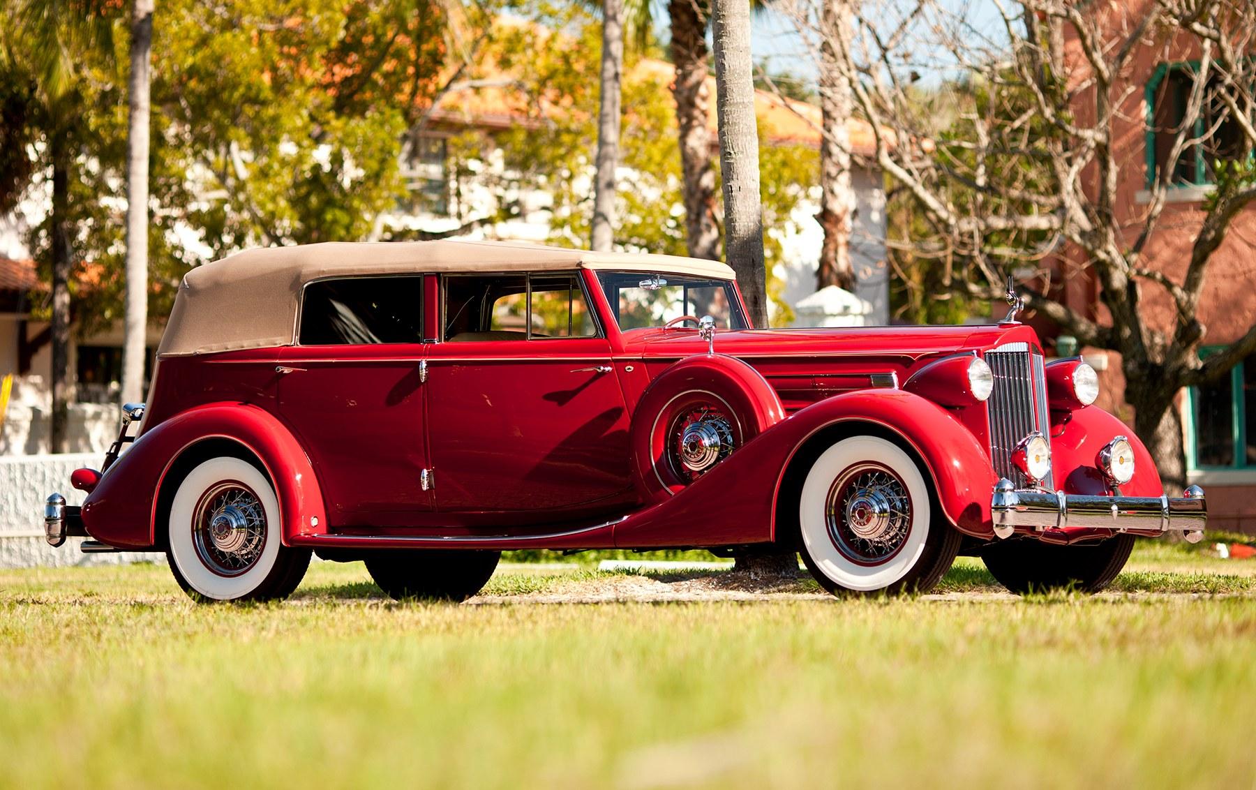 1935 Packard Twelve Model 1208 Convertible Sedan