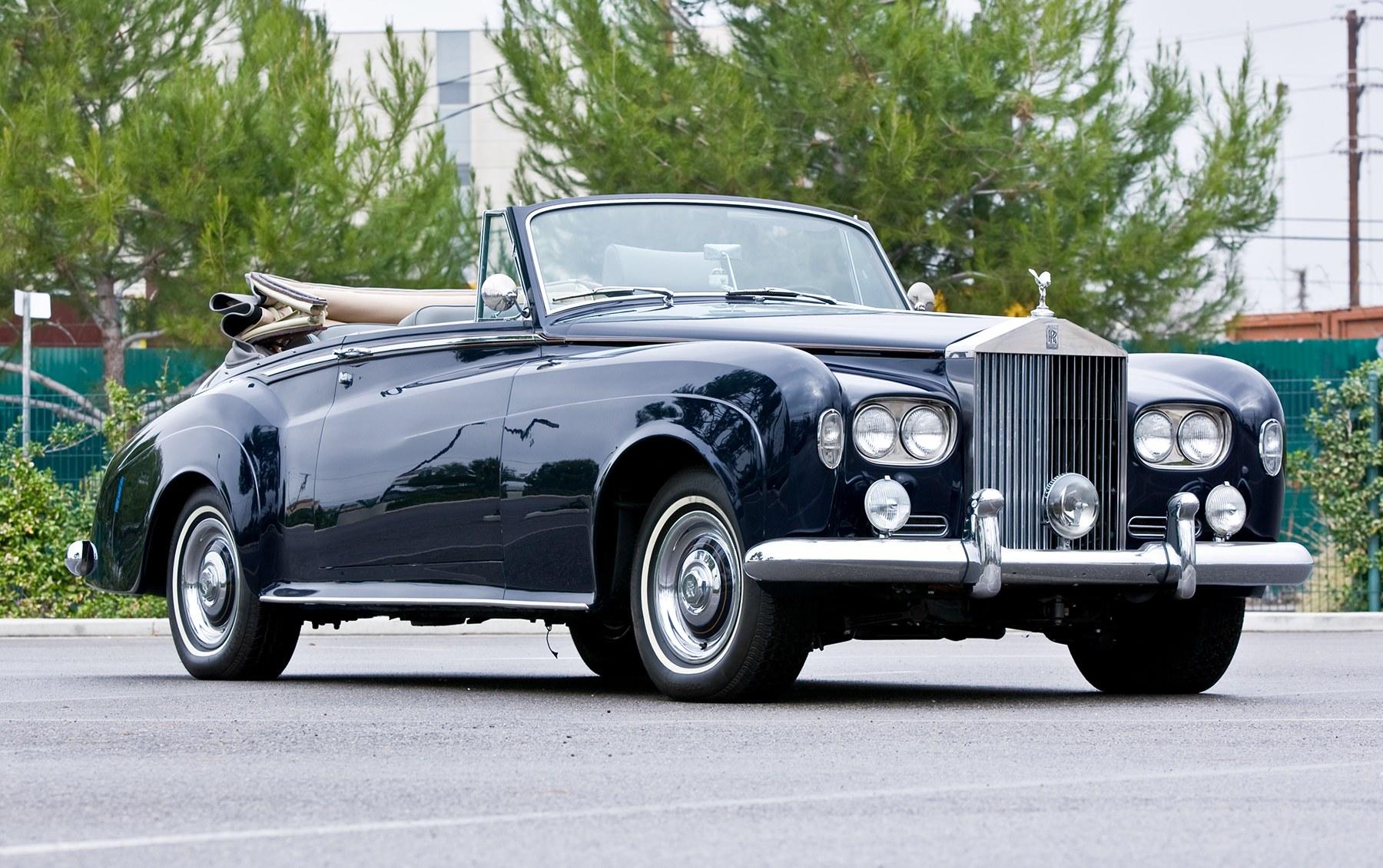 1963 Rolls-Royce Silver Cloud III Drop Head Coupe (1)