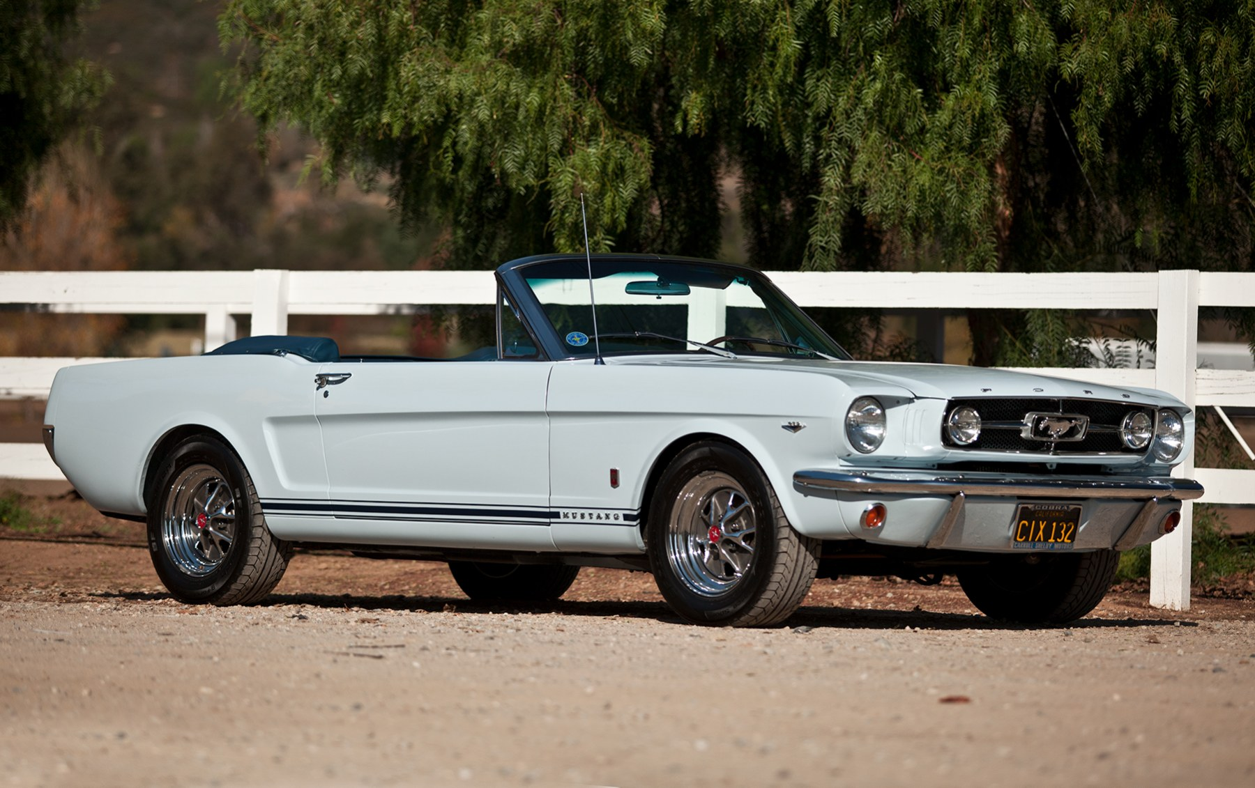 1965 Ford Mustang GT Convertible-2