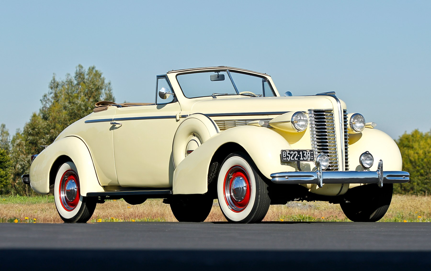 1938 Buick Special Series 46C Convertible Coupe-2