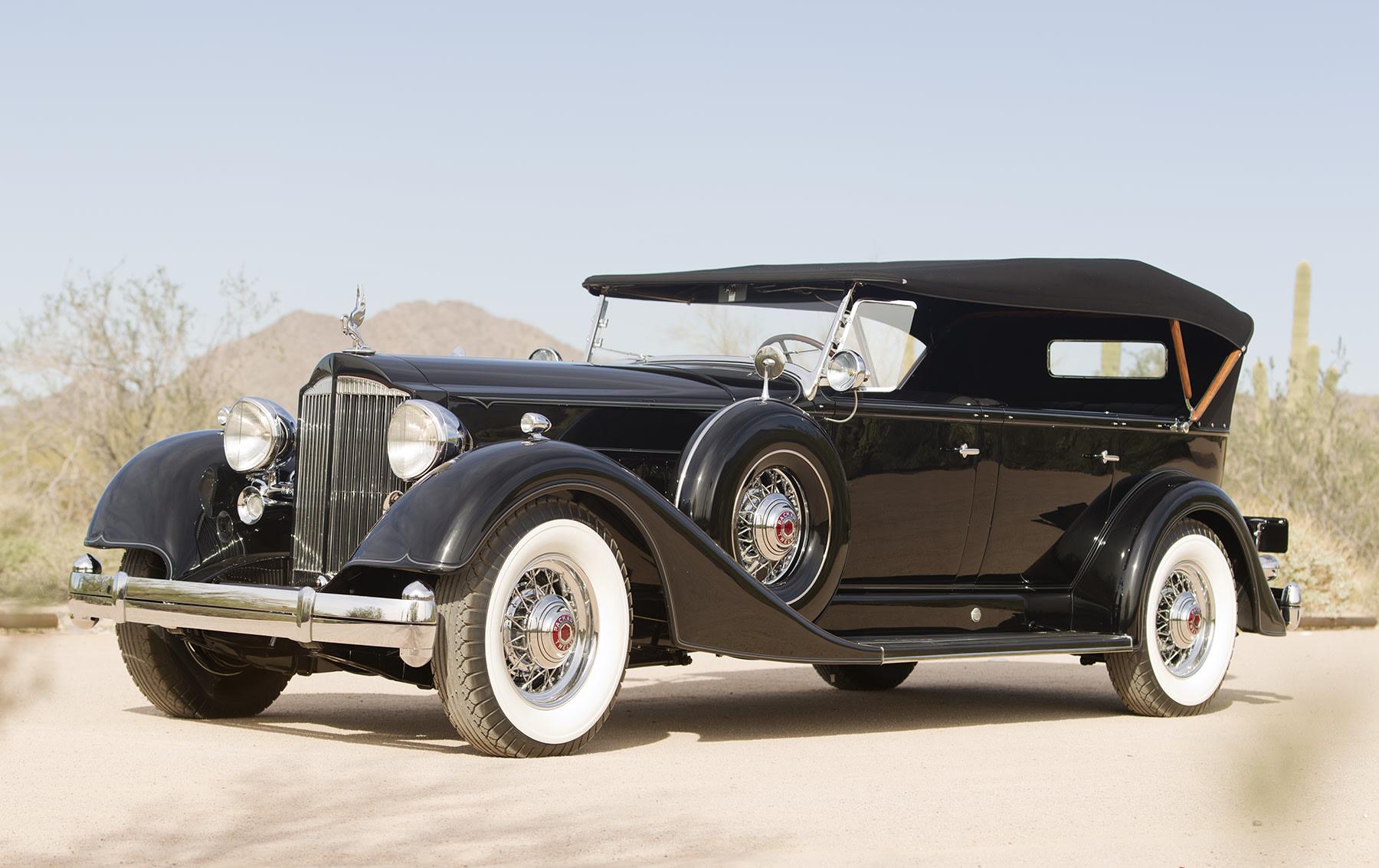 1934 Packard Twelve 1107 Seven-Passenger Touring