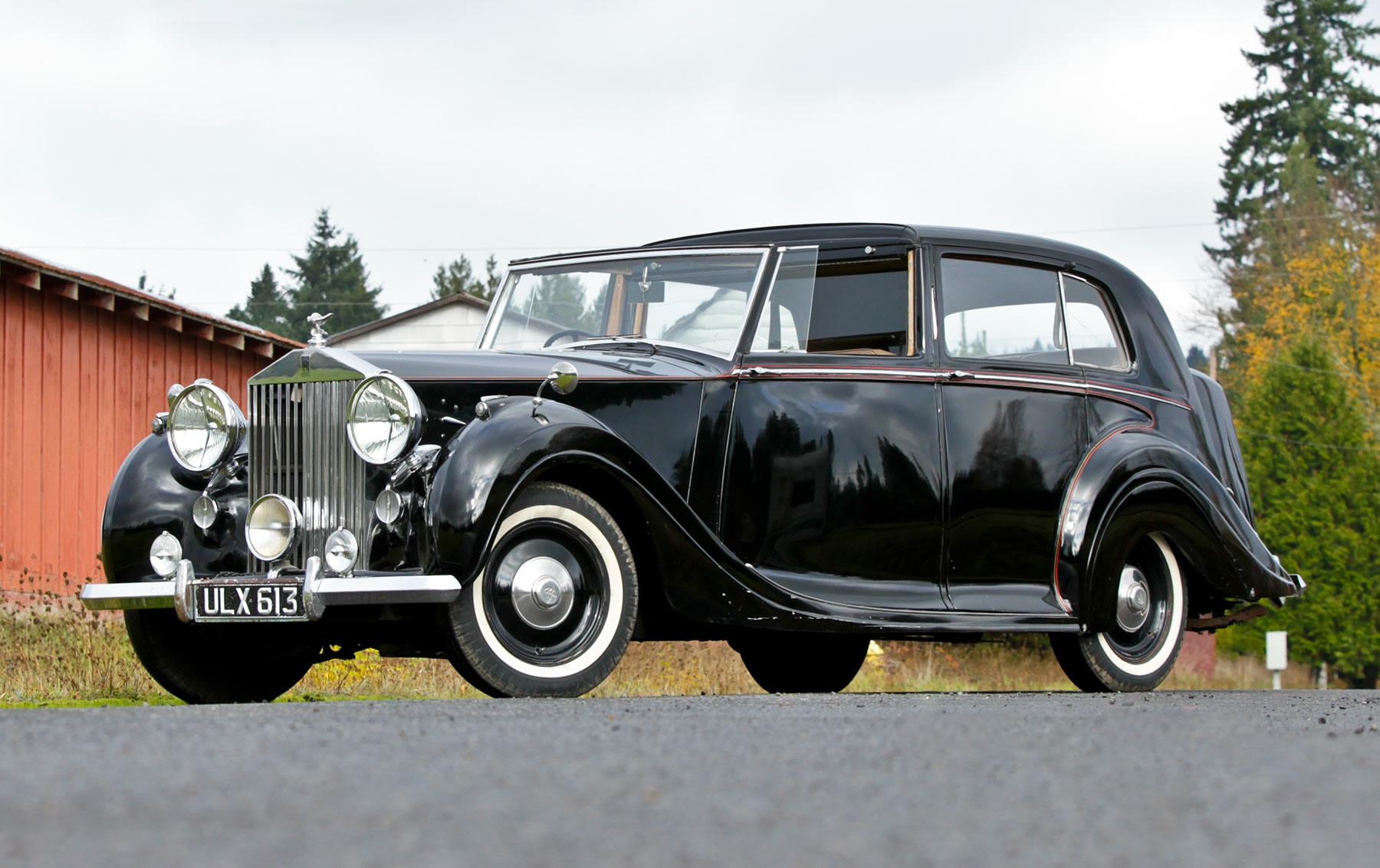 1949 Rolls-Royce Silver Wraith Sedanca de Ville