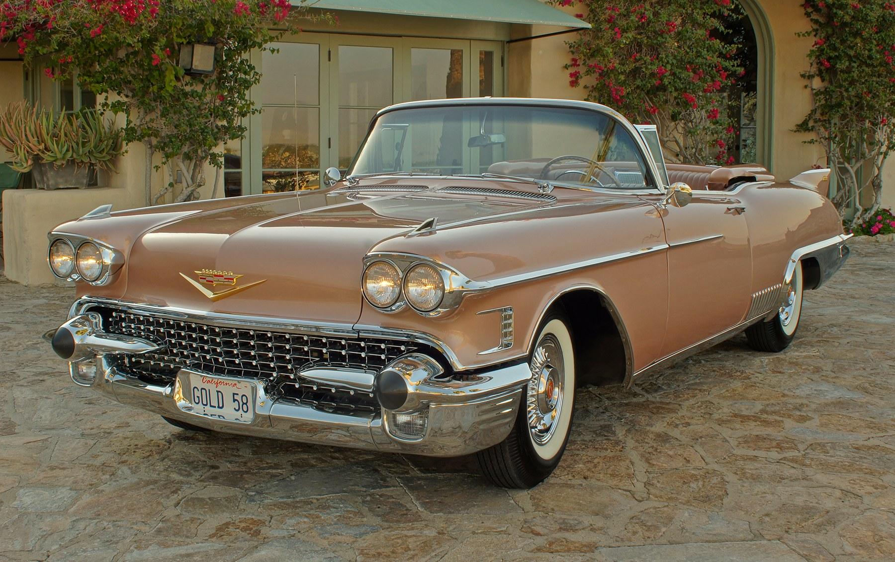 1958 Cadillac Eldorado Biarritz(1)