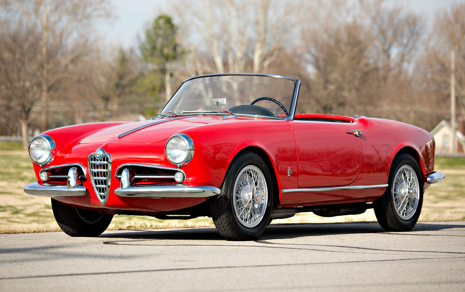 1959 Alfa Romeo Giulietta Spider(1)