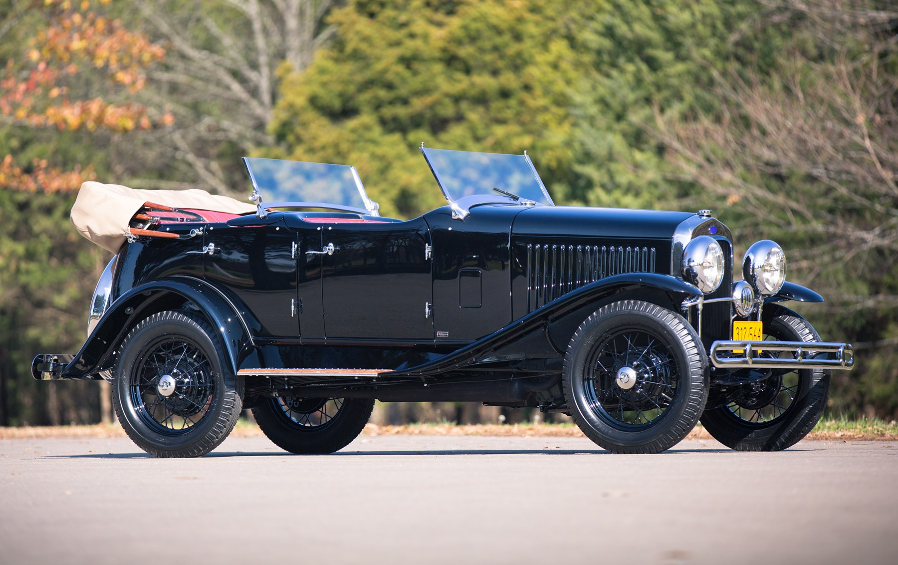 1930 Ford Model A Sport Phaeton