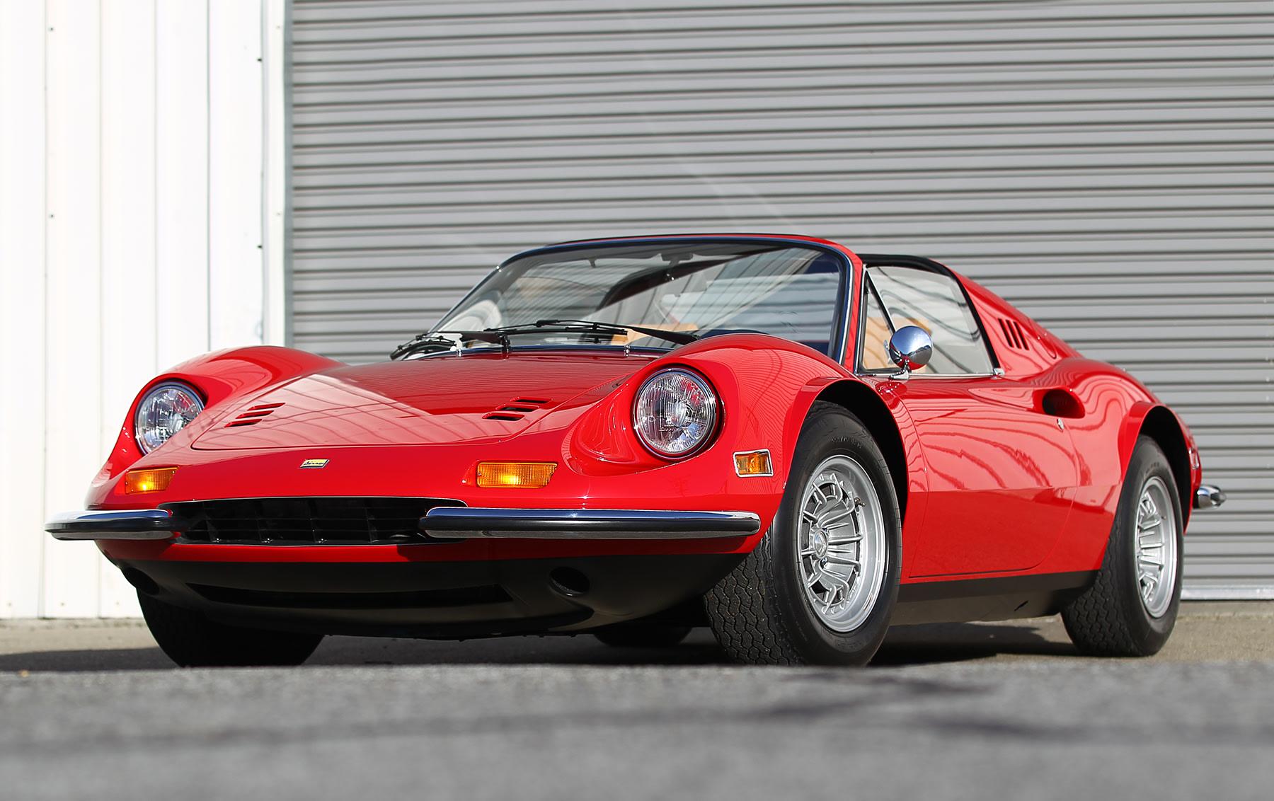 1973 Ferrari Dino 246 GTS(2)