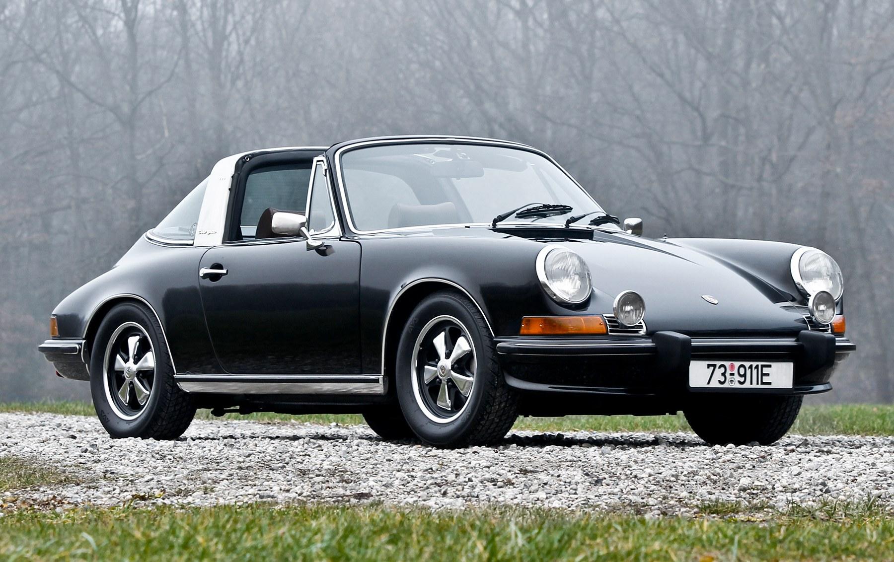 1973 Porsche 911 2.4 E Targa(1)