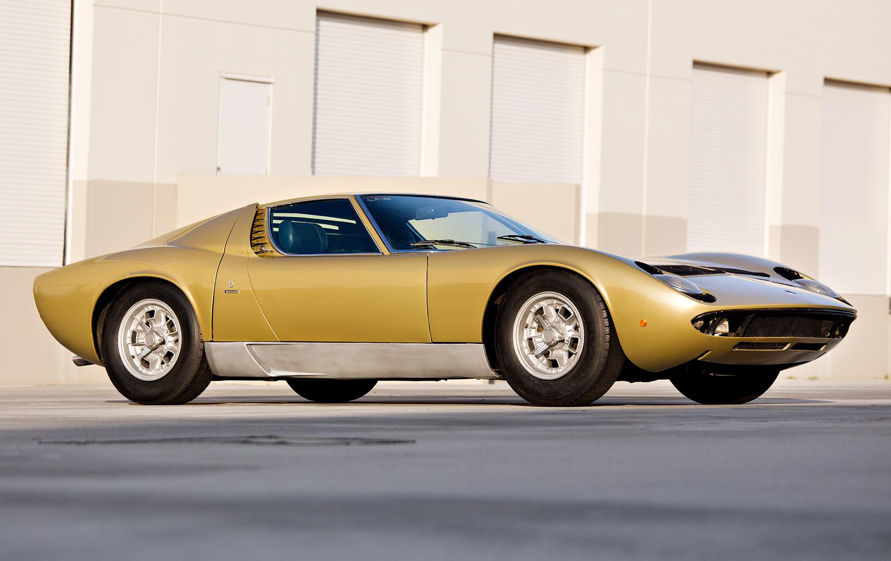 1970 Lamborghini Miura P400 S(1)