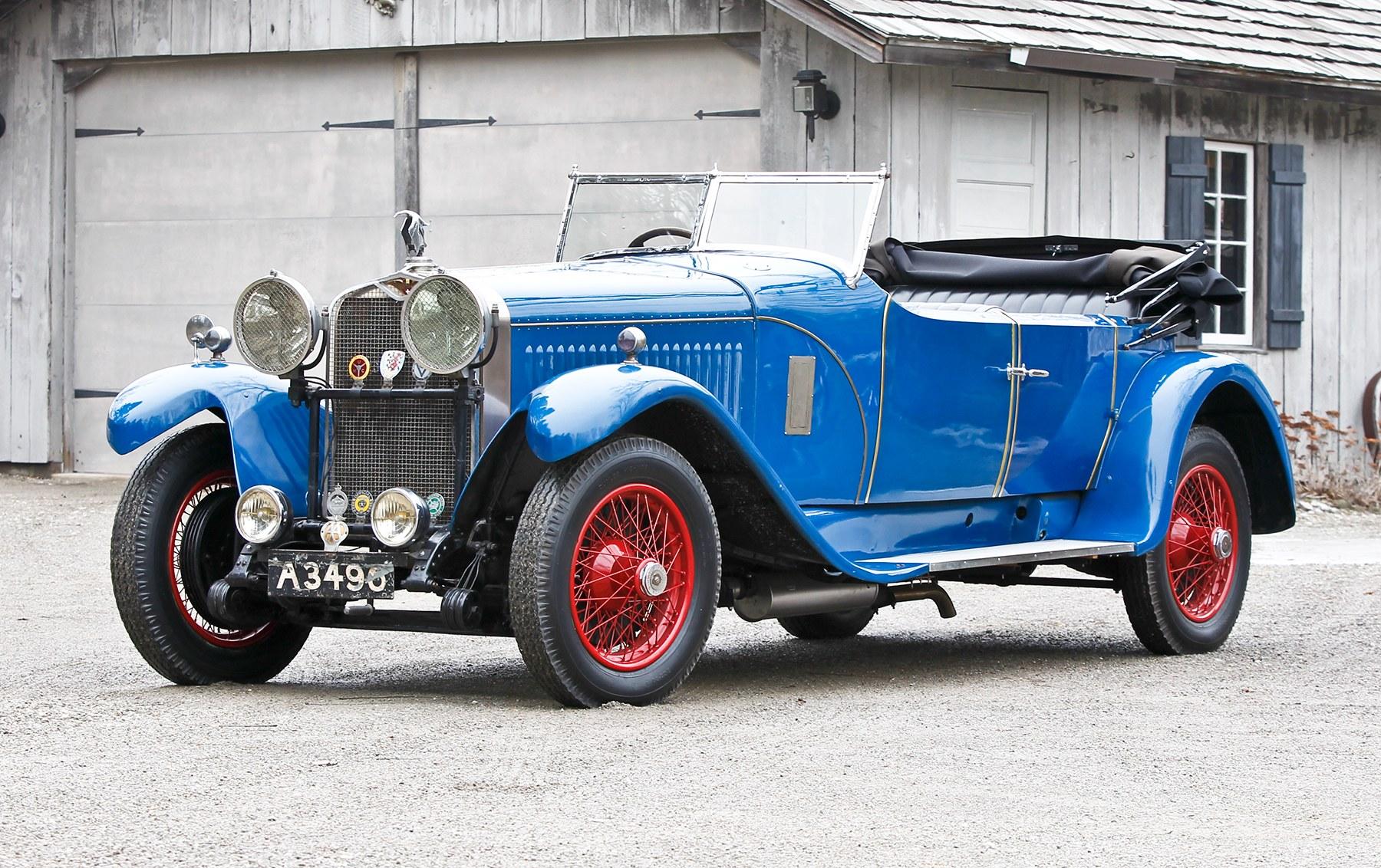 1926 Hispano-Suiza H6B Tourer