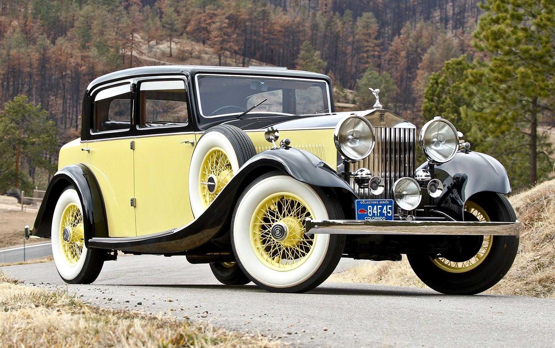 1934 Rolls-Royce 20/25 Sport Saloon