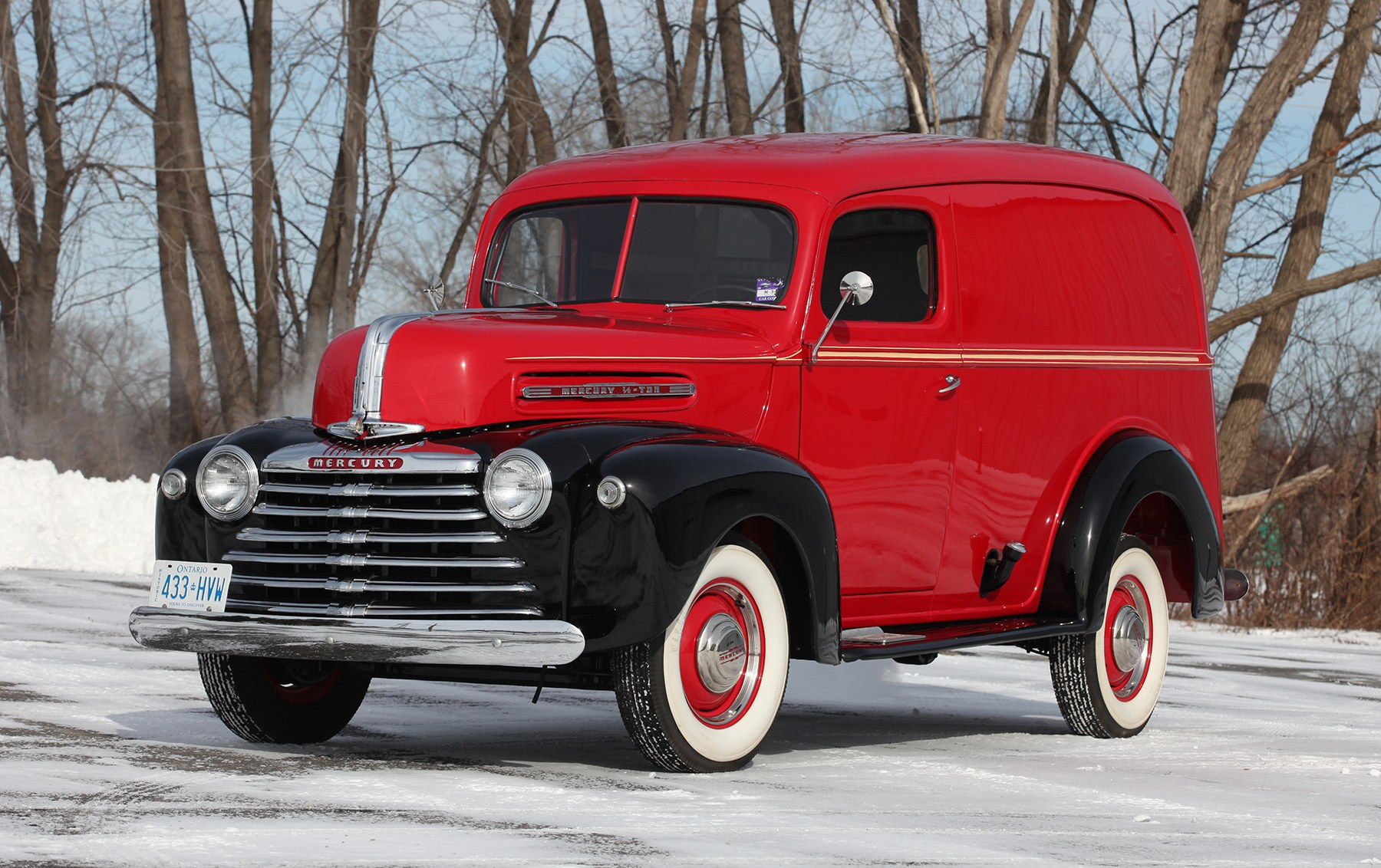 1947 Mercury Half-Ton Panel Truck