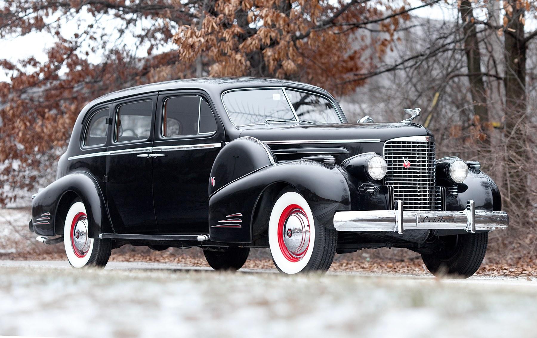 1938 Cadillac Series 90 V-16 Touring Sedan