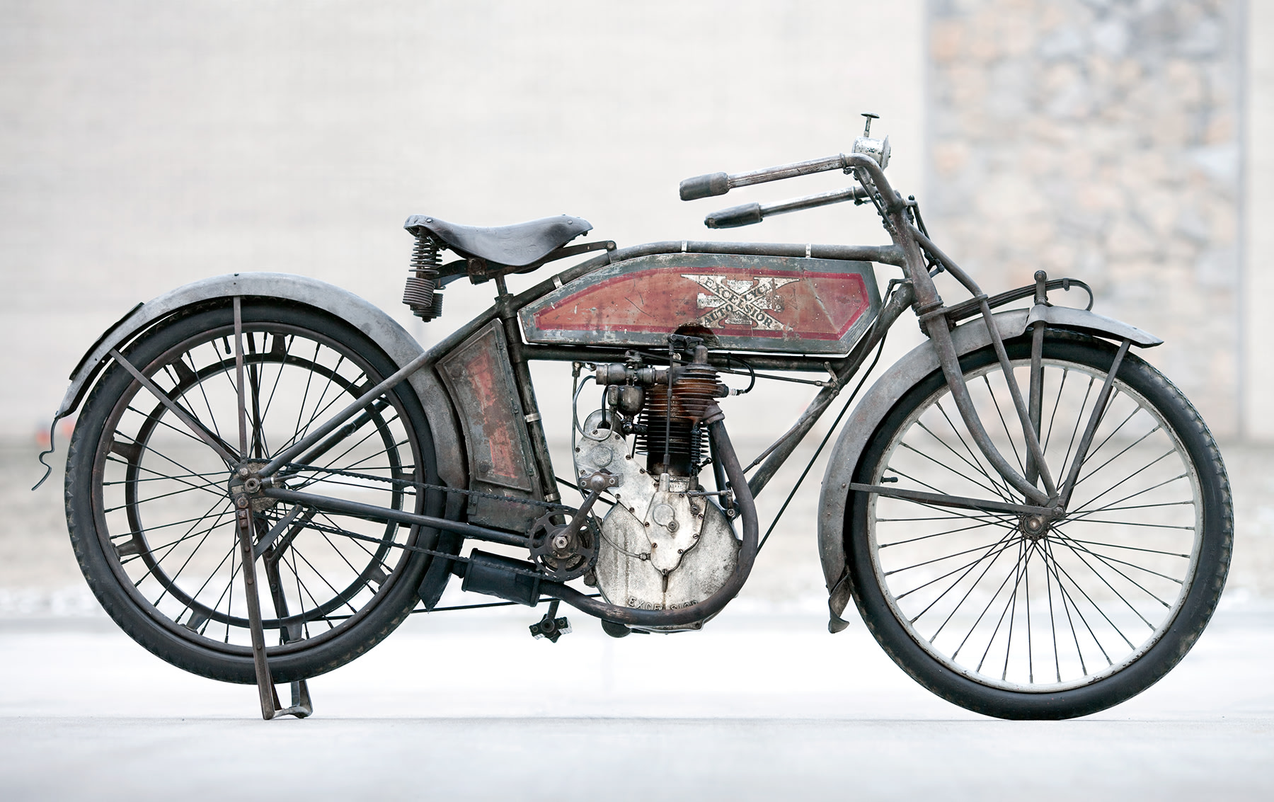 1912 Excelsior Model KM Single Auto-Cycle