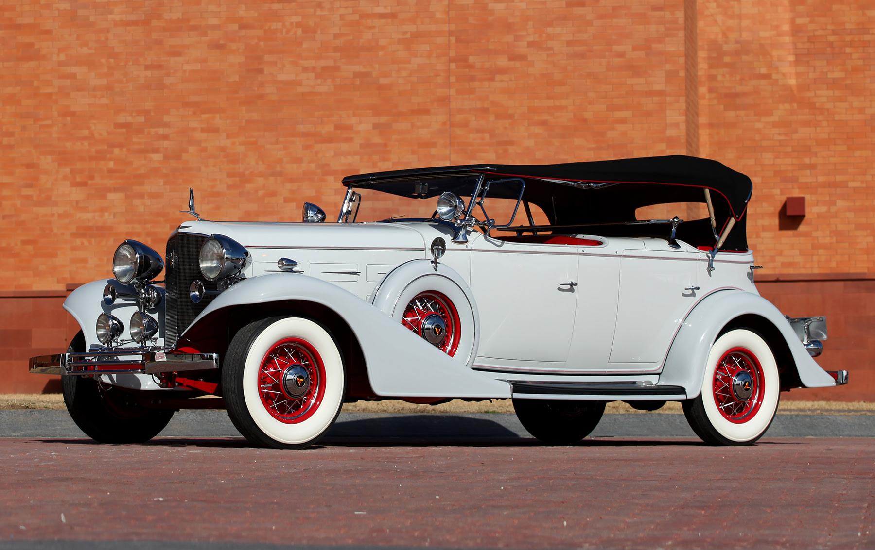 1933 Cadillac V-8 355C Dual-Cowl Phaeton