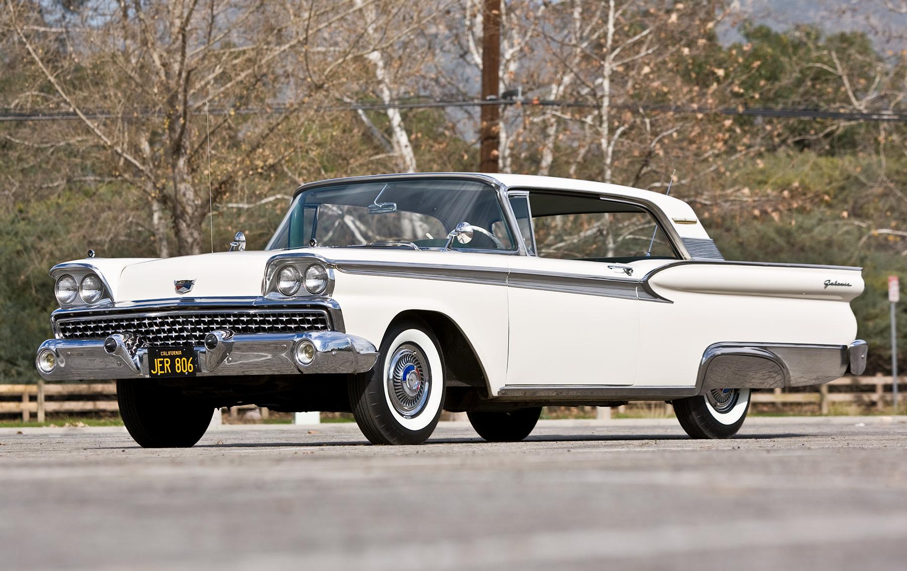 1959 Ford Fairlane Galaxie 500 Club Victoria