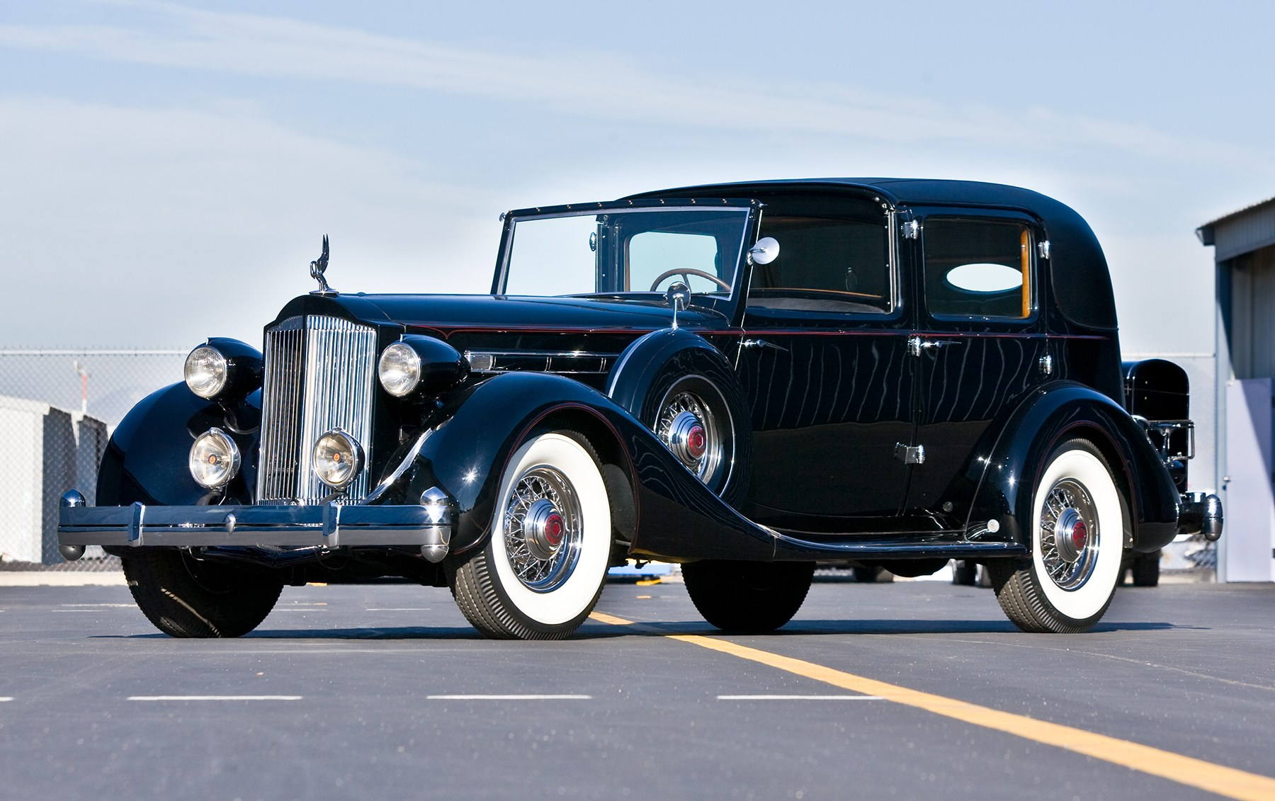 1935 Packard Twelve Model 1207 Town Car