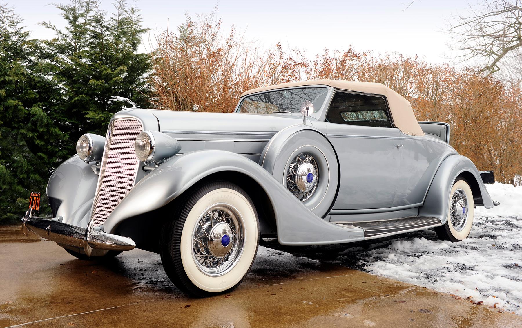 1935 Lincoln Model K Convertible Roadster