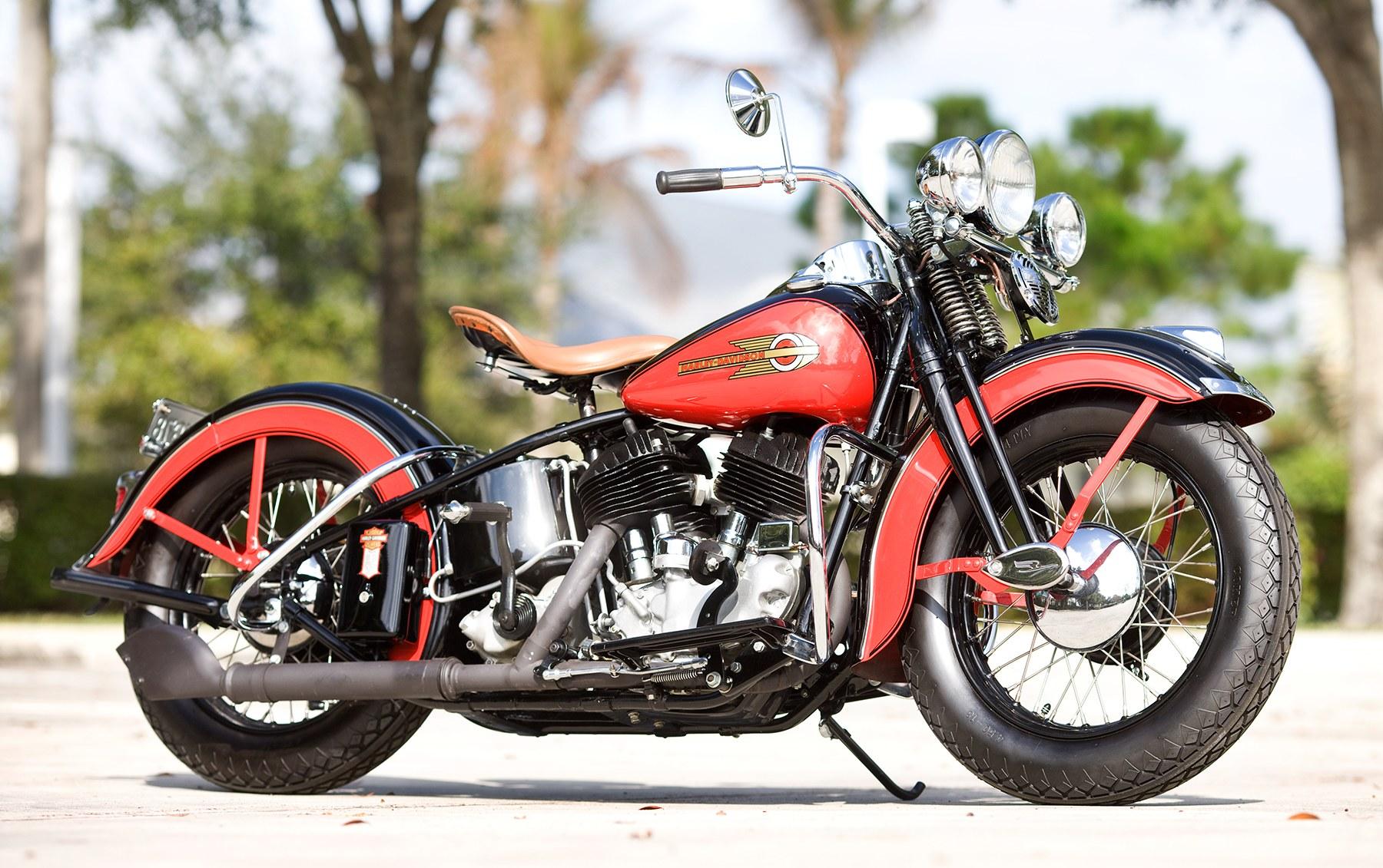 1939 Harley-Davidson Seventy-Four UL Flathead
