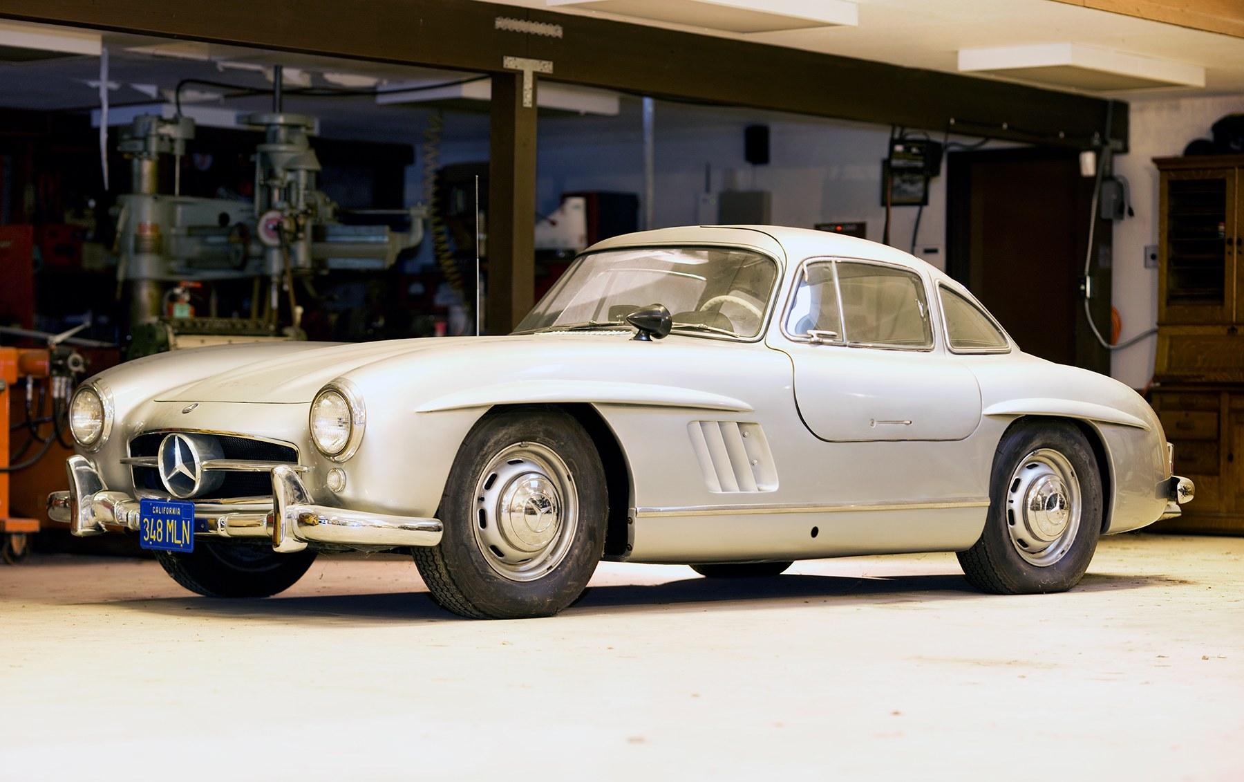 1955 Mercedes-Benz 300 SL Gullwing (1)