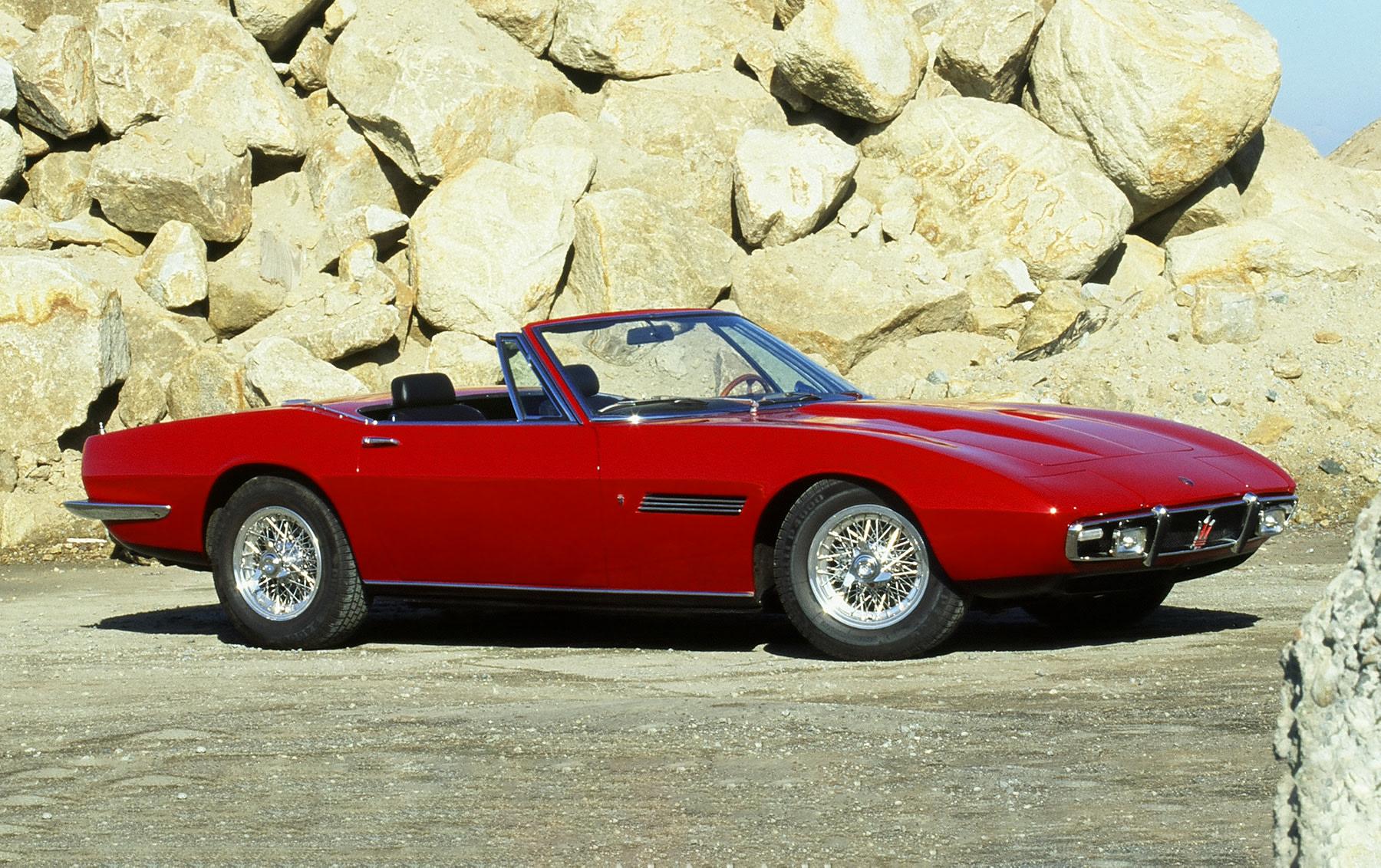 1969 Maserati Ghibli 4.9 SS Spider