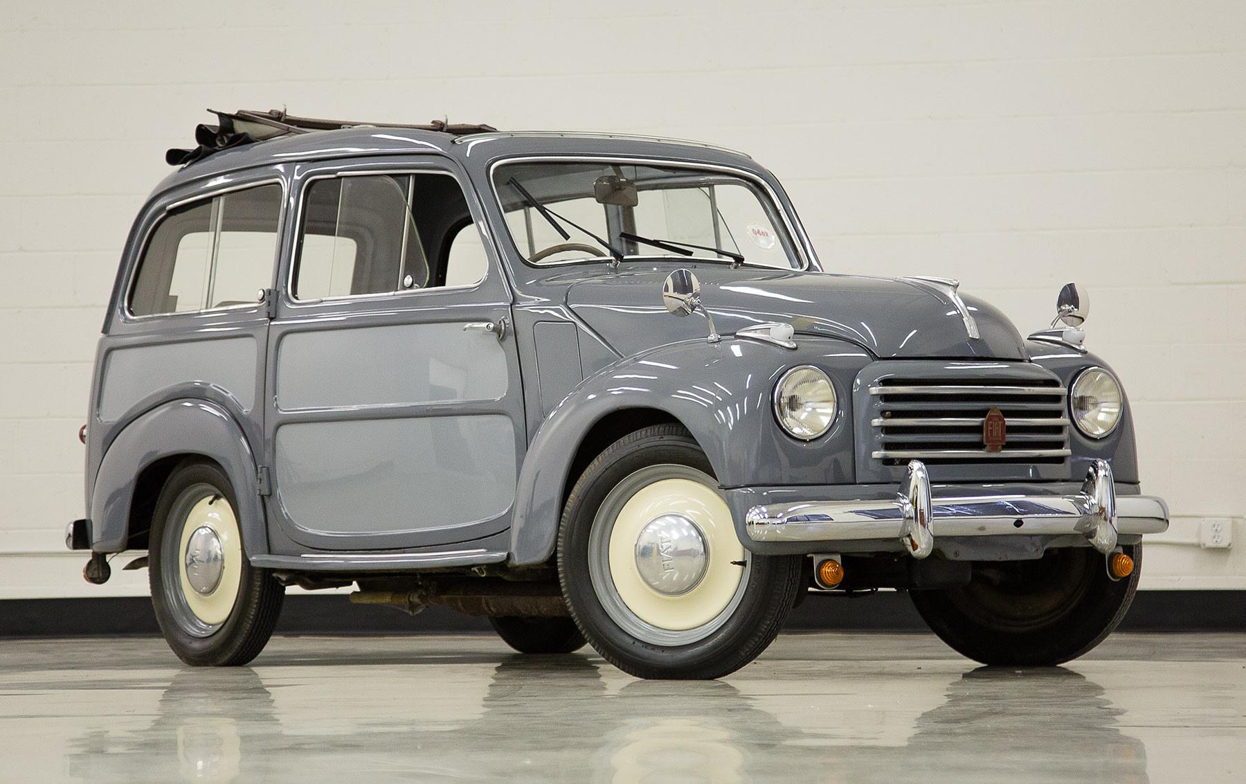 1953 Fiat 500C Belvedere