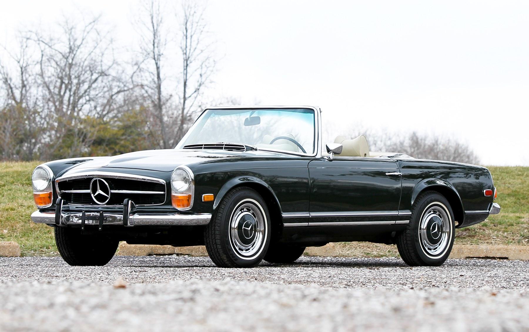 1971 Mercedes-Benz 280 SL-4