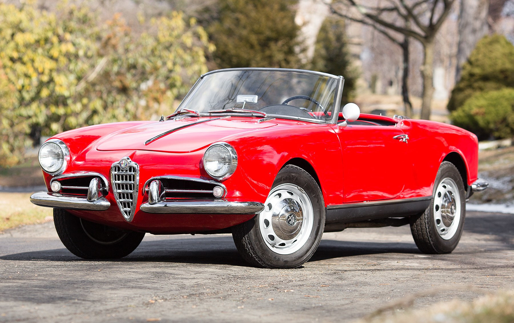 1957 Alfa Romeo Giulietta Spider-3