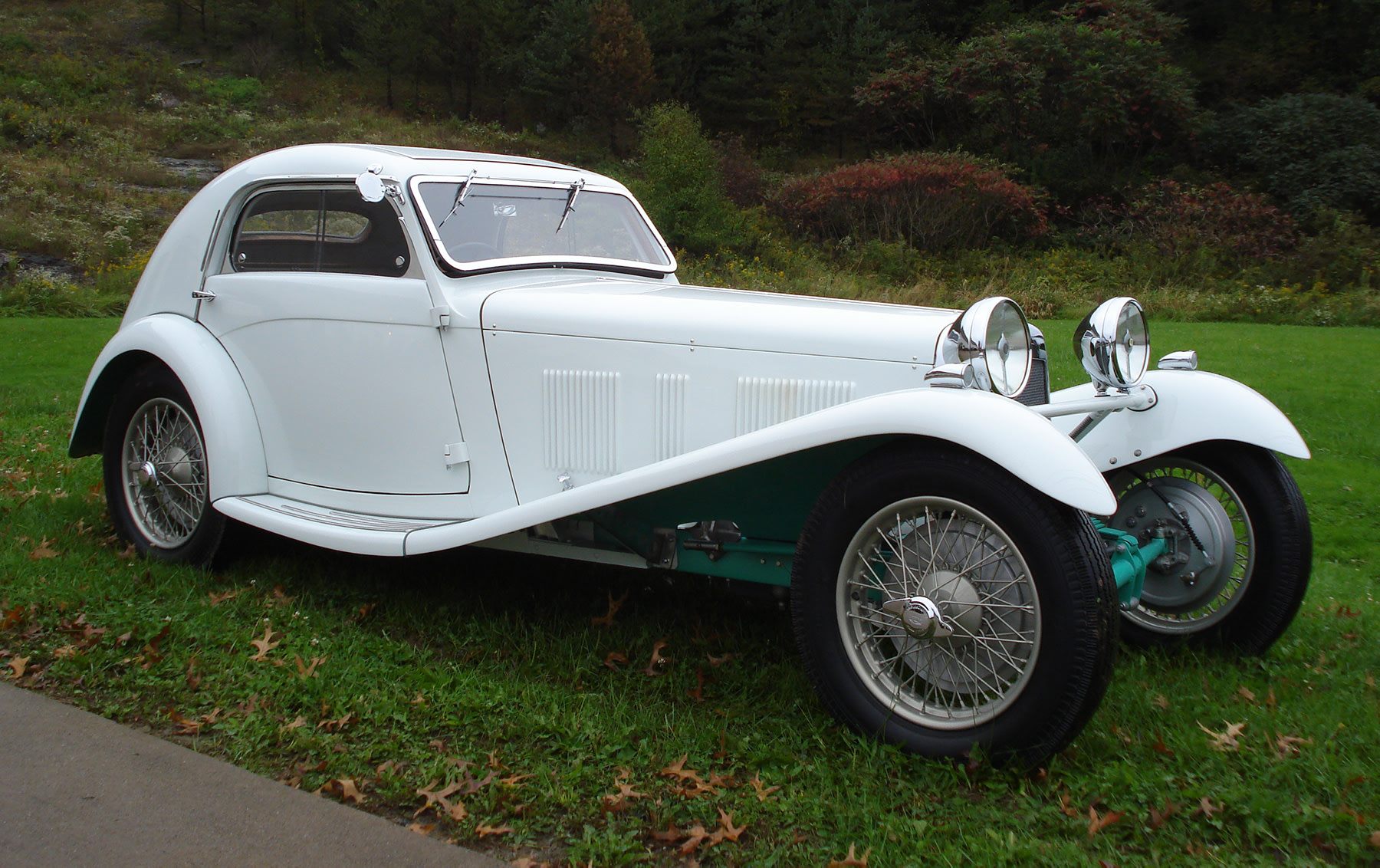 1938 H.R.G. Airline Coupe